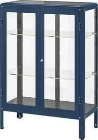 IKEA FABRIKÖR Vitrinekast 81x113 cm Zwartblauw Zwartblauw - lKEA
