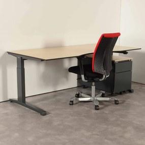 Complete set met Steelcase bureau, HAG H05 bureaustoel en Steelcase ladeblok