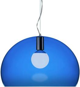 Kartell FL/Y hanglamp blauw