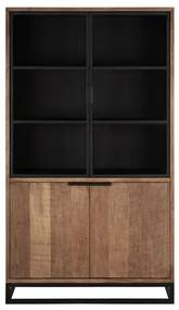DTP Home Cosmo Vitrinekast No.2 Klein - 120x45x215cm.