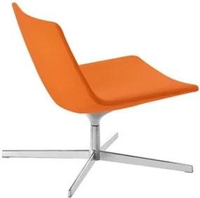 Arper Catifa 60 Lounge Low fauteuil oranje