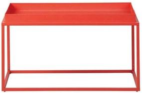 Salontafel Club NY - oranje - 45x80x45 cm - Leen Bakker
