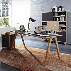 Germania Helsinki Modern Bureau Van Massief Hout - 160 X 80cm.