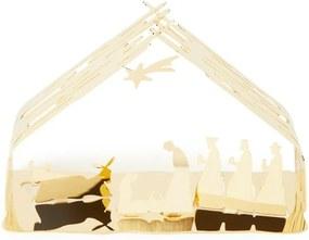 Alessi Bark Crib kerststal set van 2