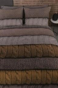 Beddinghouse   Dekbedovertrekset Benwick lits-jumeaux xl: breedte 260 cm x lengte 200/220 cm oker dekbedovertreksets flanel   NADUVI outlet