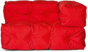 Sitting Bull Couch Armleuning Rechts - Rood