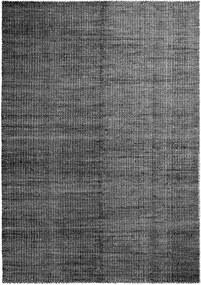 Hay Moiré vloerkleed 140x200 zwart