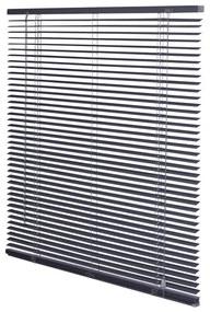 Intensions Jaloezie 140x175x5cm lamellen 2.5cm aluminium Donkergrijs 1187416