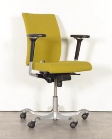 Bureaustoel HAG H04, groen, 4D armleggers