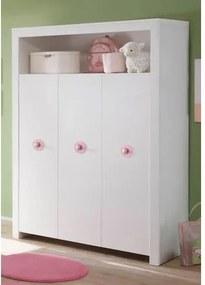 Garderobekast passend bij meubelserie »Trend«, wit