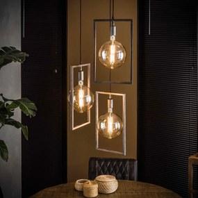 Design Hanglamp Met Rechthoekig Frame
