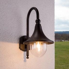 Elegante buitenwandlamp Daphne in het zwart - lampen-24