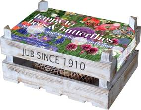 Kistje 'Happy to Bees & Butterflies' 60 bollen