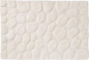 Badmat Antislip Sealskin Pebbles Katoen Ivoor 60x90cm