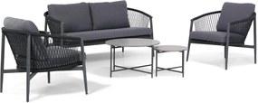 Lifestyle Antaly/Saka stoel-bank loungeset 5-delig