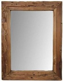 HSM Collection spiegel Tymen - bruin - 90x70 cm - Leen Bakker