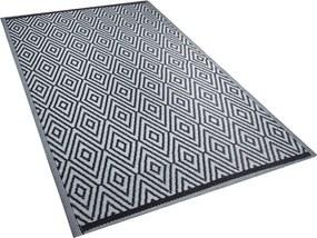 Outdoor tapijt zwart 150x200 cm SIKAR