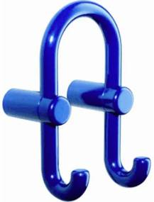 Hewi Serie 801 Handdoekhaak H16.5xD8.7xL8.7cm Kunststof Zwart 801.90.040 90