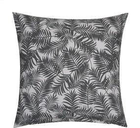Sierkussenhoes Palm Leaf - Grijs Fresh & Co - Ga naar Dekbed-Discounter.nl & Profiteer Nu