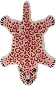 Doing Goods Loony Pink Leopard Small  kleed 92 x 62 cm