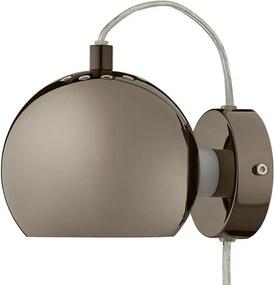 Frandsen Ball wandlamp LED zwart chroom