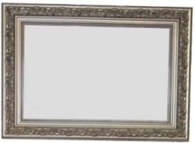 Barok spiegel 70x90 cm Zilver
