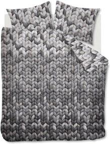 Ariadne at Home | Dekbedovertrekset Warmly tweepersoons: breedte 200 cm x lengte 200/220 cm + grijs dekbedovertrekken katoen | NADUVI outlet