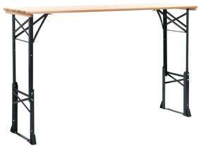 Medina Biertafel inklapbaar 169x50x75/105 cm grenenhout