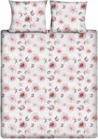 Ten Cate Home | Dekbedovertrekset Pastry eenpersoons: breedte 140 cm x lengte 200/220 cm + wit, roze dekbedovertreksets | NADUVI outlet