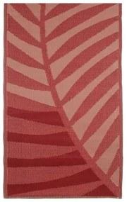 Buitenkleed 180x90 cm Rood/roze