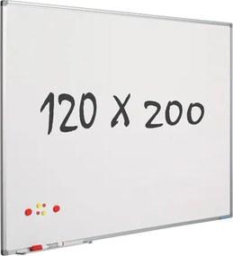 Whiteboard 120x200 cm - Magnetisch