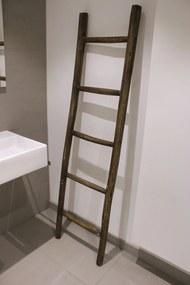 Teun badkamer decoratie ladder rustiek 175cm