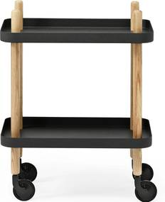 Normann Copenhagen Block trolley zwart 50x35