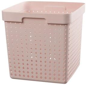 Mand xl - roze - 29,5x29,5x29,5cm