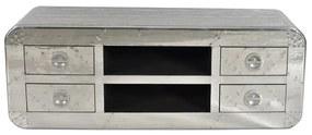Tv-meubel Aluminium 145 Cm - 145x45x50cm.