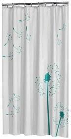 Sealskin Vento Douchegordijn Polyester 180x200 cm Aqua 233511330