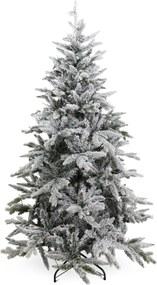 Canberra kunstkerstboom met sneeuw en lampjes