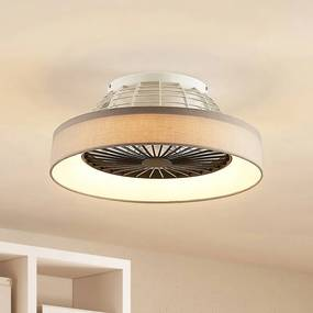 Circuma LED plafondventilator, grijs - lampen-24