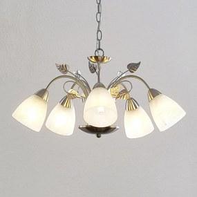 Yannie LED hanglamp, 5-lamps - lampen-24