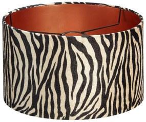 Lampenkap Zebra Zwart Wit