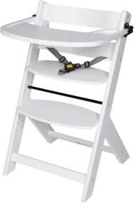 Kinderstoel Domino White incl. Eetblad