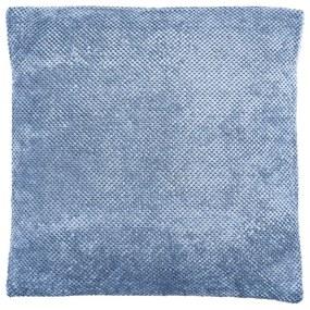 Kussen blokje - steenblauw - 60x60 cm