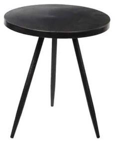 Ronde tafel zwart maat in cm: 40 x 35