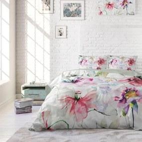 DreamHouse Bedding Water Flowers 1-persoons (140 x 220 cm + 1 kussensloop) Dekbedovertrek