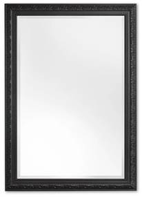 Barok Spiegel 43x53 cm Zwart - Daniel