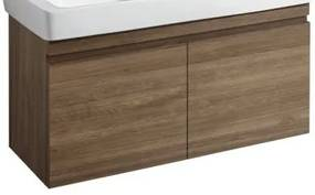 Renova Plan wastafelonderkast 2 laden 122,6x58,6cm eiken eiken