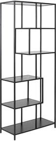 Lisomme Industriële open boekenkast - Vic - Hout - 4 planken -