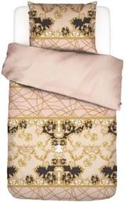 ESSENZA | Dekbedovertrekset Gabriella lits-jumeaux: breedte 240 cm x lengte 220 cm + 2x blush, roze dekbedovertreksets katoen | NADUVI outlet