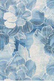 Louis de Poortere - Villa Nova Akina 8756 indigo - 280 x 200 - Vloerkleed