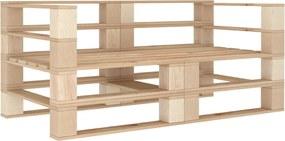 Tuinbank 2-zits pallet hout